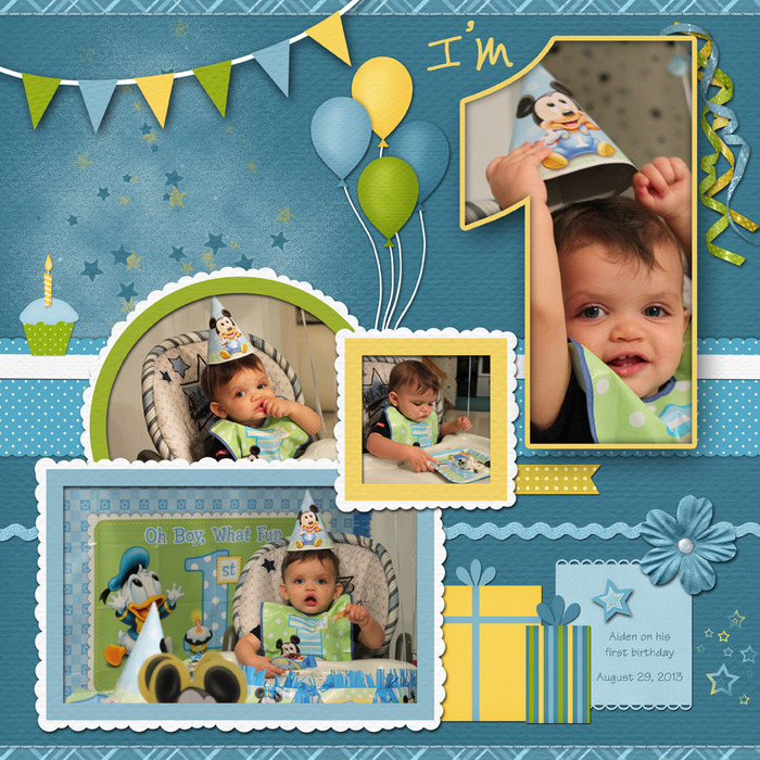 first birthday borders ; 01597591380efd52e3f948faa5d5bf4b
