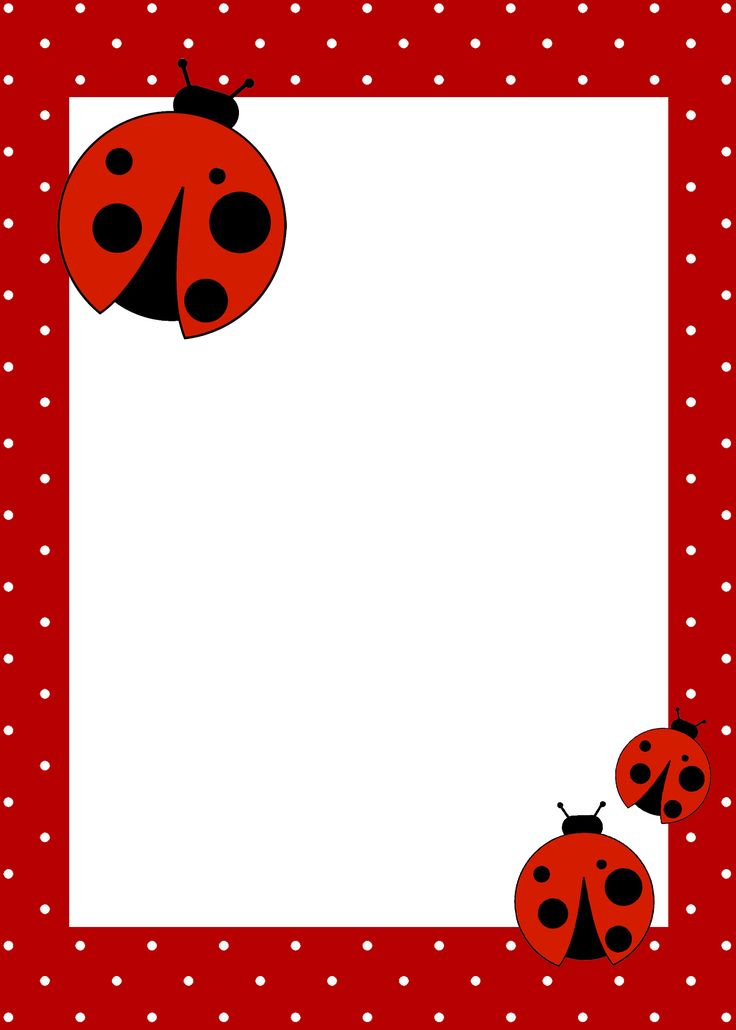 first birthday borders ; e4f095c2cf7b4fdeb715c2ef696a4aec--ladybug-birthday-invitations-printable-birthday-invitations