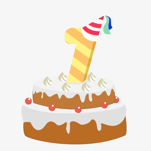 first birthday cake clipart ; 155770d1d57b1c9