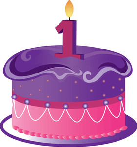 first birthday cake clipart ; weaver-clipart-clip_art_illustration_of_a_birthday_cake_with_a_number_1_candle_0515-1101-1604-1156_SMU