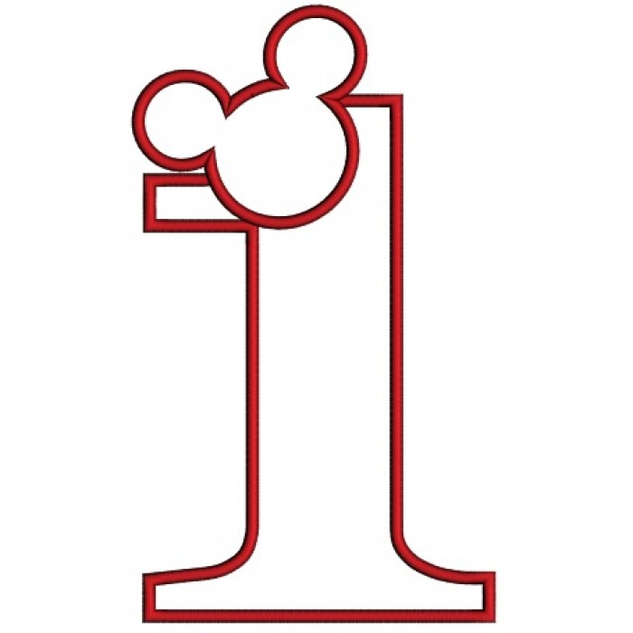 first birthday design ; Looks%2520Like%2520Mickey%2520Ears%2520First%2520Birthday%2520Applique%2520Machine%2520Embroidery%2520Design%2520Digitized%2520Patterna-700x700
