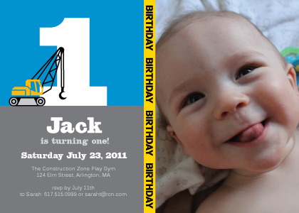 first birthday party photo invitations ; 986_1_130_A02_lg
