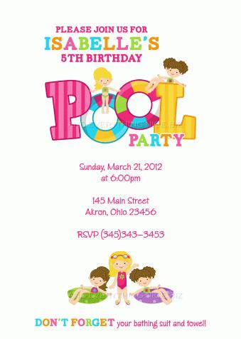 first birthday pool party invitation wording ; 3rd-birthday-pool-party-invitation-wording-7a50225c9e56f4bdbd053e6d04cbf4de