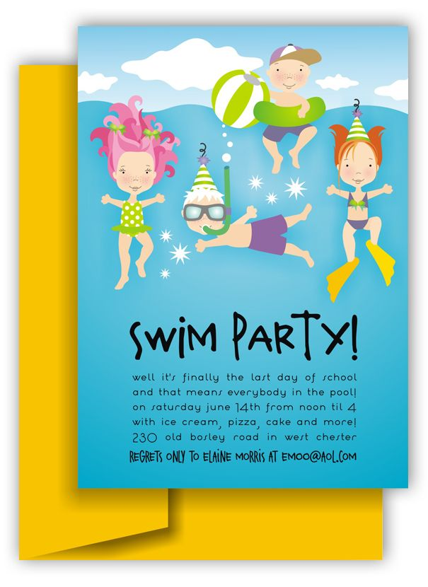 first birthday pool party invitation wording ; 6c76db90fe54525c9d251e85db147203--swim-party-invitations-invitation-ideas
