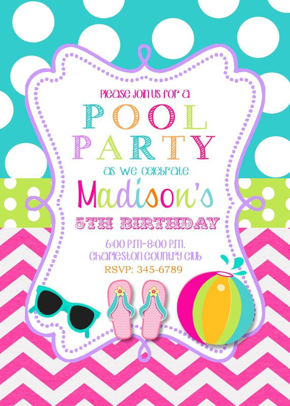 first birthday pool party invitation wording ; de85a9eec37589077752193233892aad--swim-party-invitations-photo-invitations