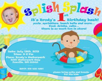 first birthday pool party invitation wording ; marvellous-girls-pool-party-invitations-especially-awesome-birthday