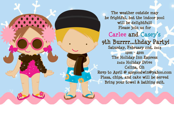 first birthday pool party invitation wording ; pool-party-birthday-invitations-wording