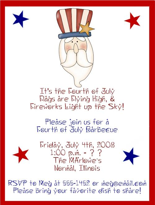 Fourth Of July Birthday Invitation Wording 4th 2520birthday2520invitation2520quotes2520
