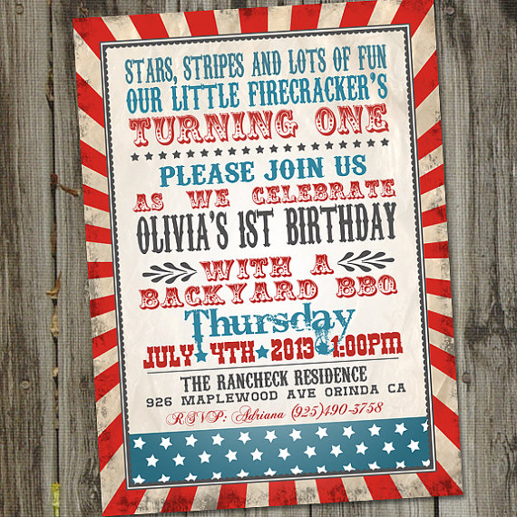 fourth of july birthday invitation wording ; like-this-item_little-firecracker-fourth-of-july-birthday-invitati-on-patriotic-invitation-wording-memorial-day-th-of-july