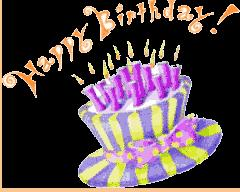 free animated birthday images ; free-animated-greeting-cards-rectangle-landscape-purple-yellow-birthday-cake-with-candle-picture-orange-wording-download-free-greetings-cards-july-2011