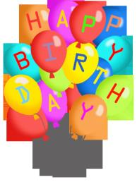 free birthday clip art pictures ; 194x261xbirthday-balloons-many-colors-letters