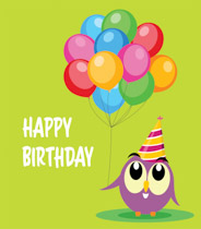 free birthday clip art pictures ; TN_owl-character-holding-birthday-balloons-clipart