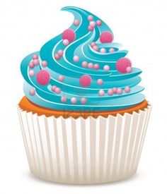 free birthday cupcake clipart ; 1d3faa061e81d725a9e0a3d4c9a2e257--marketing-blog-social-marketing