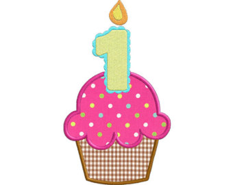 free birthday cupcake clipart ; 1st-birthday-cupcake-clipart-1