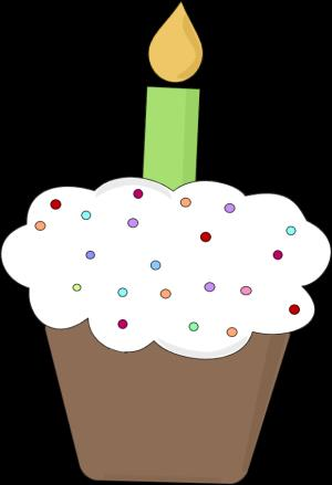 free birthday cupcake clipart ; fun-birthday-cupcake