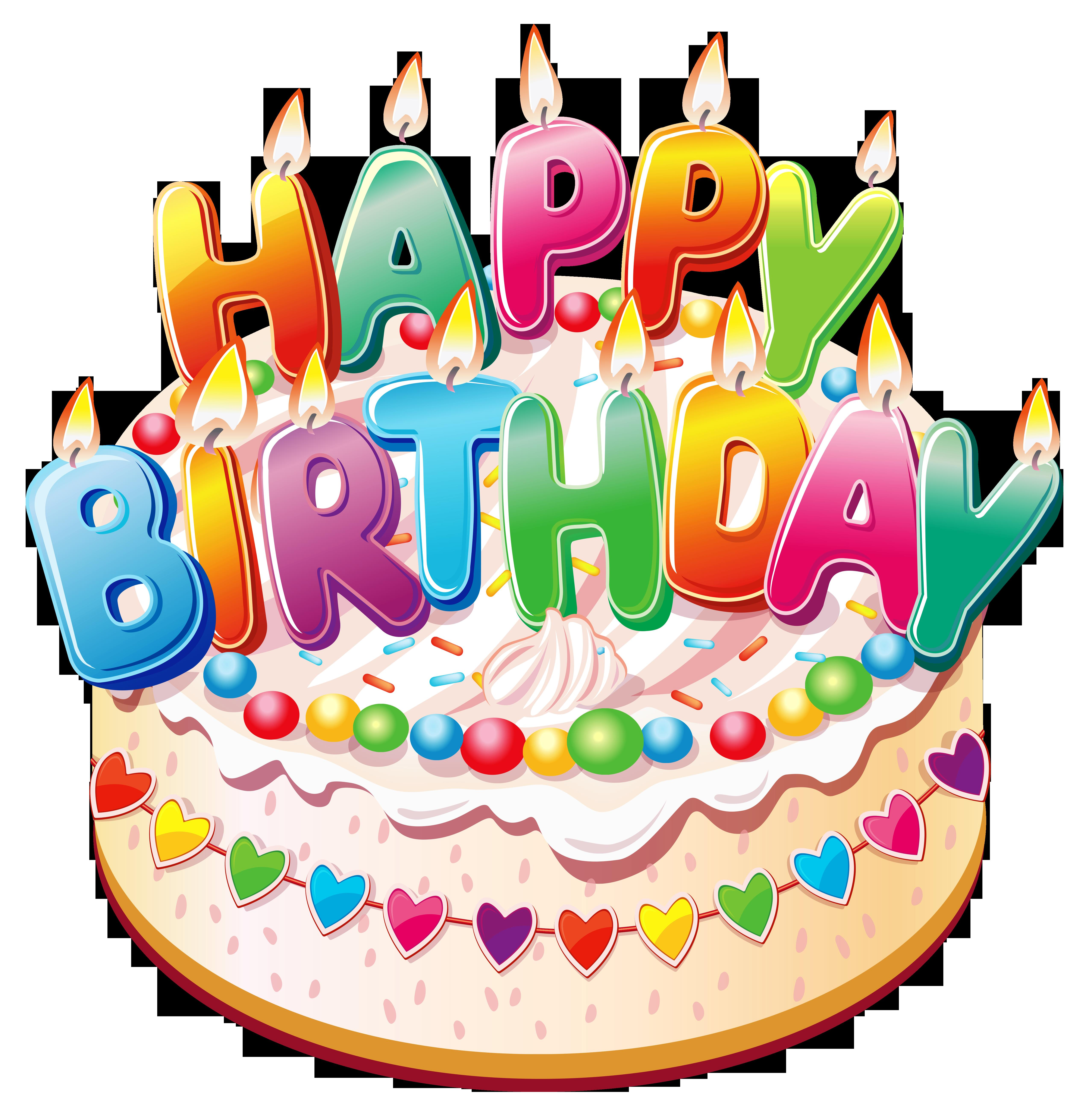 free birthday downloads cliparts ; artistic-cakes-clipart-5