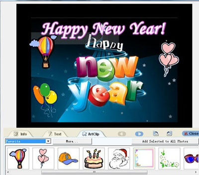 free birthday greeting cards to send by email ; happy-new-year-ecards