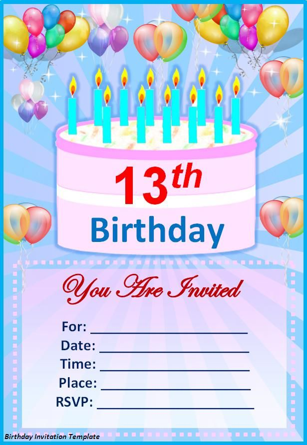 free birthday invitation card templates for word ; invitation-card-design-for-birthday-party-make-your-own-birthday-invitations-free-my-birthday-pinterest-awesome