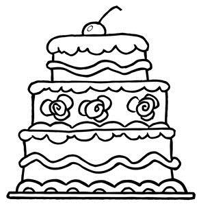 free clipart birthday cake black and white ; 737ff7ff667906d057addfc4df77bd6e