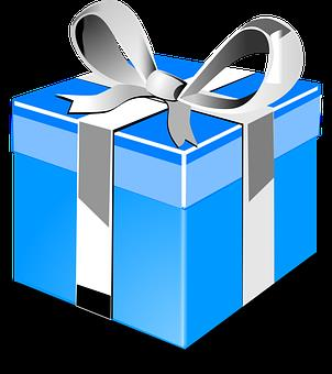 free clipart birthday presents ; gift-295241__340