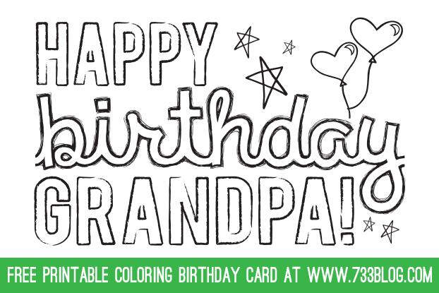 free coloring birthday cards to print ; grandpa-birthday-card