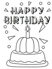 free coloring birthday cards to print ; tn-BA43-677802