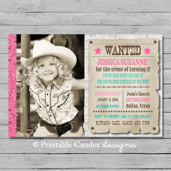 free cowgirl birthday invitation templates ; cowgirl-birthday-invitations-for-the-invitations-design-of-your-inspiration-Birthday-Invitation-Templates-party-4