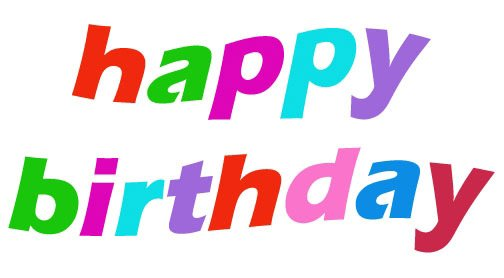 free happy birthday clipart for him ; blogexplore