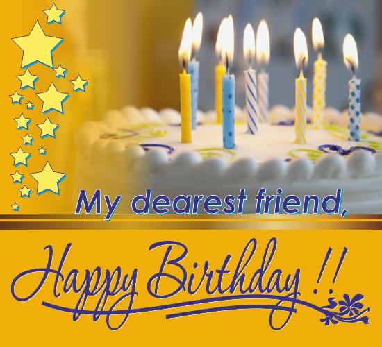 free happy birthday greeting cards for best friend ; 315899