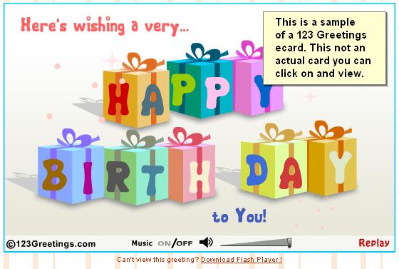 free online 123 birthday greeting cards ; 123greetingscard1