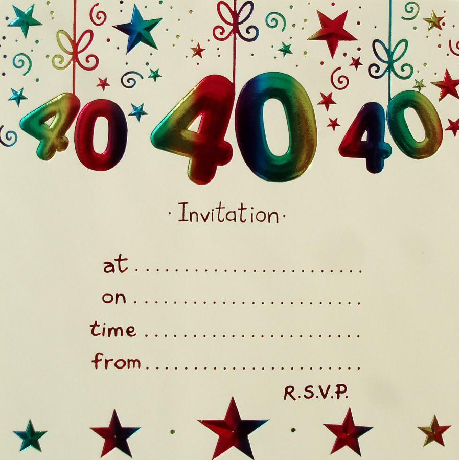 free printable 40 birthday invitations ; Remarkable-40Th-Birthday-Party-Invitations-As-Prepossessing-Ideas-Birthday-Invitations