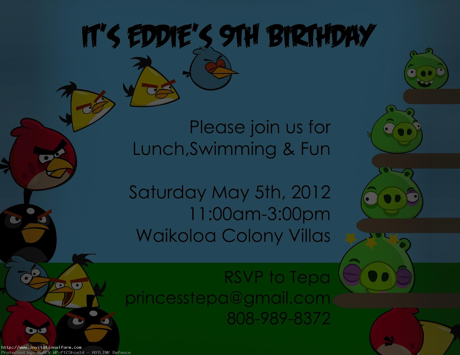 free printable angry bird birthday invitations ; Angry-Bird-Invitations-Template