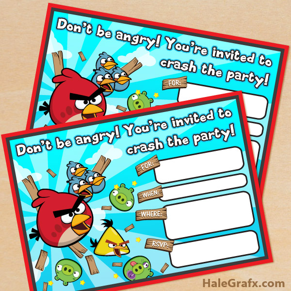 free printable angry bird birthday invitations ; angry-birds-invite