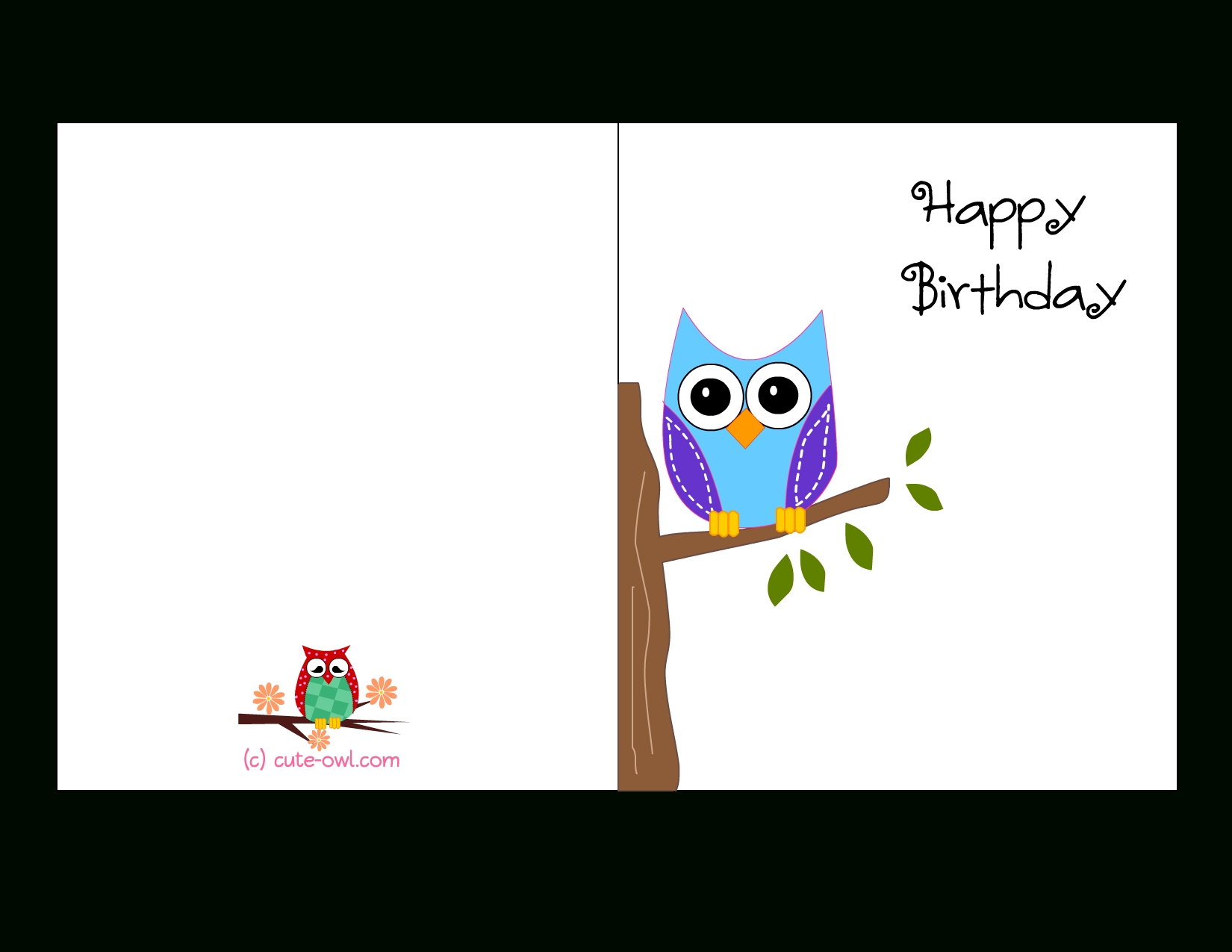 free printable birthday cards for boys ; free-printable-cute-owl-birthday-cards-pertaining-to-printable-birthday-cards