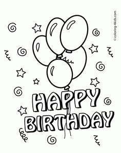 free printable birthday coloring cards for kids ; 8fe93a53a41821292c9043464f822e7c--kids-coloring-free-coloring