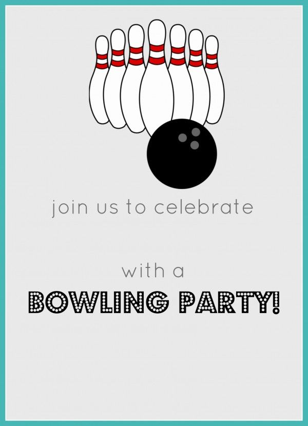 free printable bowling birthday party invitations ; 691d44131a4431ac10656bf451aa44d2