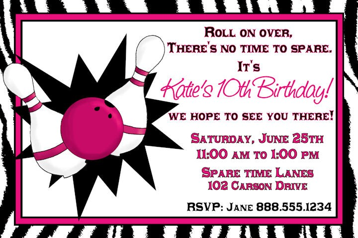 free printable bowling birthday party invitations ; Bowling-alley-birthday-invitations