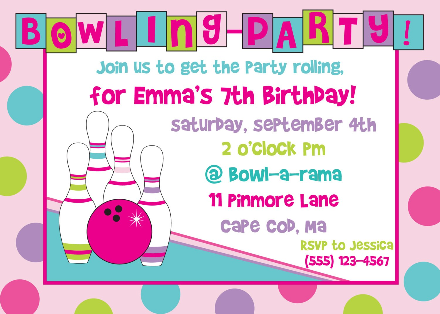 free printable bowling birthday party invitations ; birthday_party_invitation_templates_free_printable_2