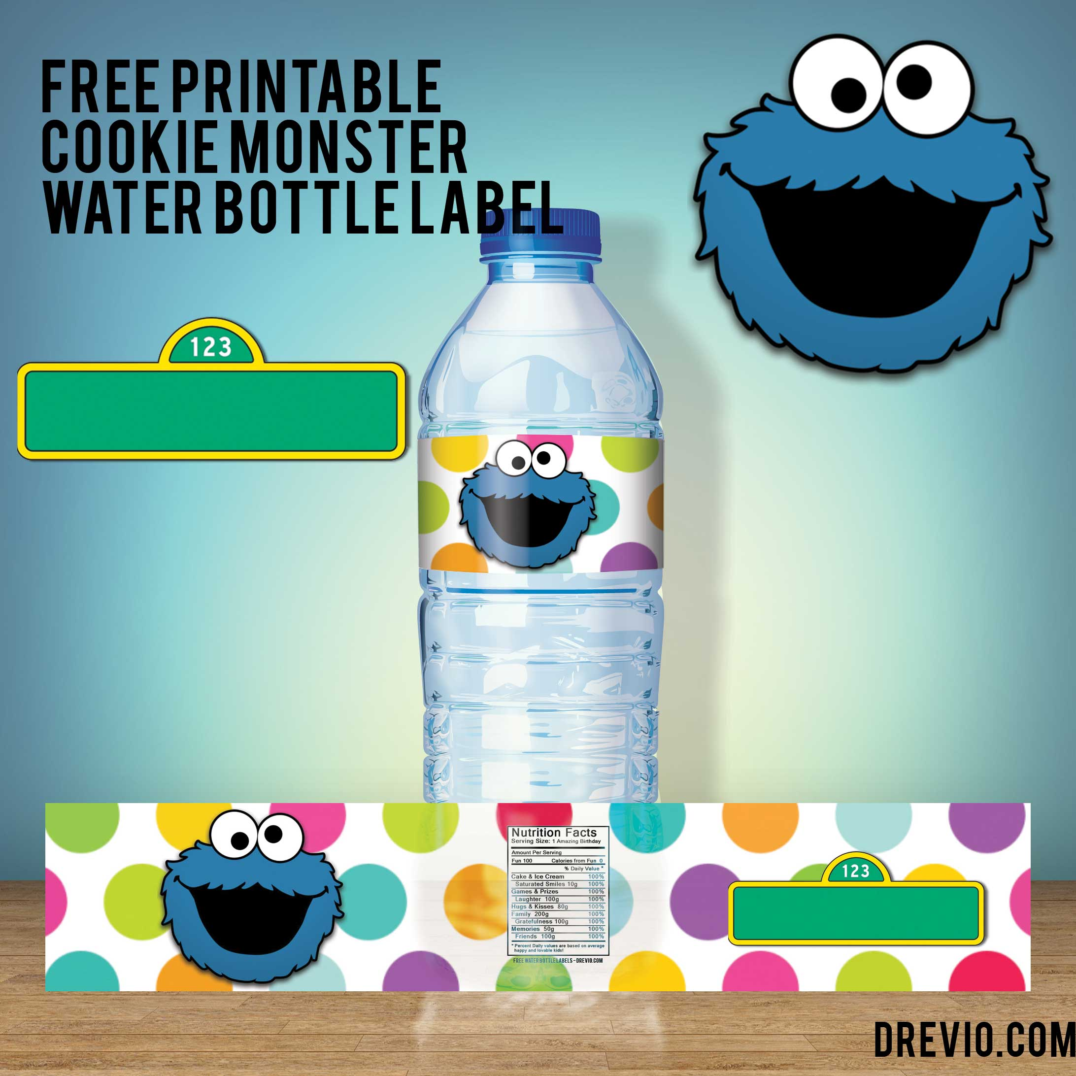 free printable cookie monster birthday invitations ; FREE-Printable-Cookie-Monster-Water-Bottle-Label-Preview