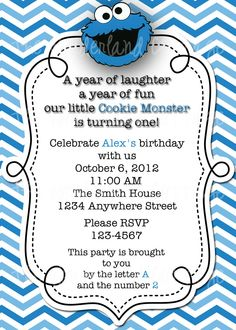 free printable cookie monster birthday invitations ; cookie-monster-birthday-invitations-with-a-alluring-invitations-specially-designed-for-your-Bridal-Shower-Invitation-Templates-6