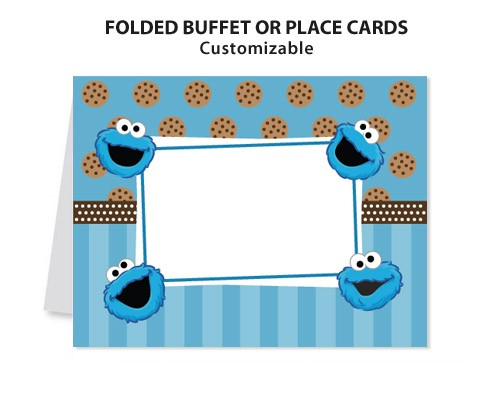 free printable cookie monster birthday invitations ; cookie_monster_sesame_street-_printable_diy_custom_place_card_1dd60a03