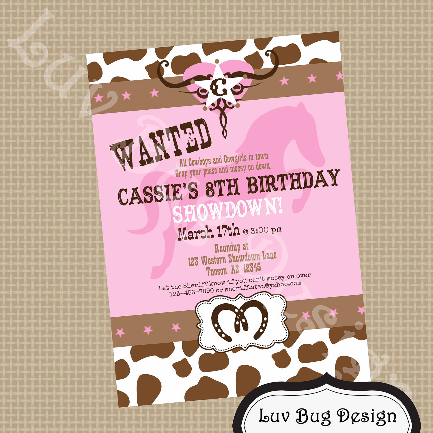 free printable cow birthday invitations ; Astonishing-Cowgirl-Birthday-Invitations-Which-Can-Be-Used-As-Free-Printable-Birthday-Invitations