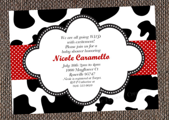free printable cow birthday invitations ; cow-print-invitations-items-similar-to-cow-print-birthday-invitation-printable-or