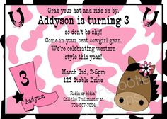 free printable cowgirl birthday party invitations ; 0699d98fb49957676e1d4a74c8c4e75e--cowgirl-birthday-invitations-cowgirl-birthday-parties