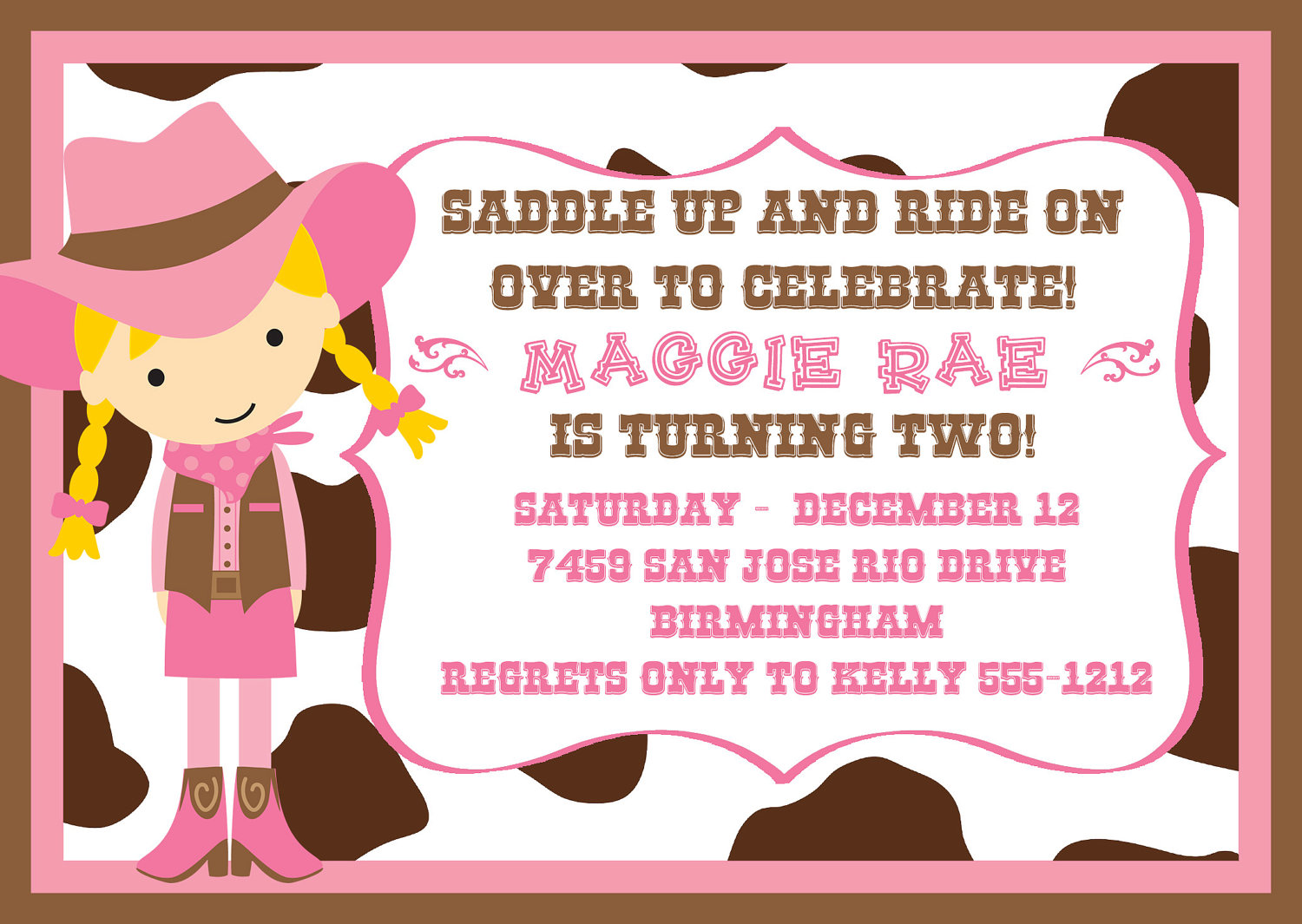 free printable cowgirl birthday party invitations ; Cowgirl-birthday-invitations-free-printable