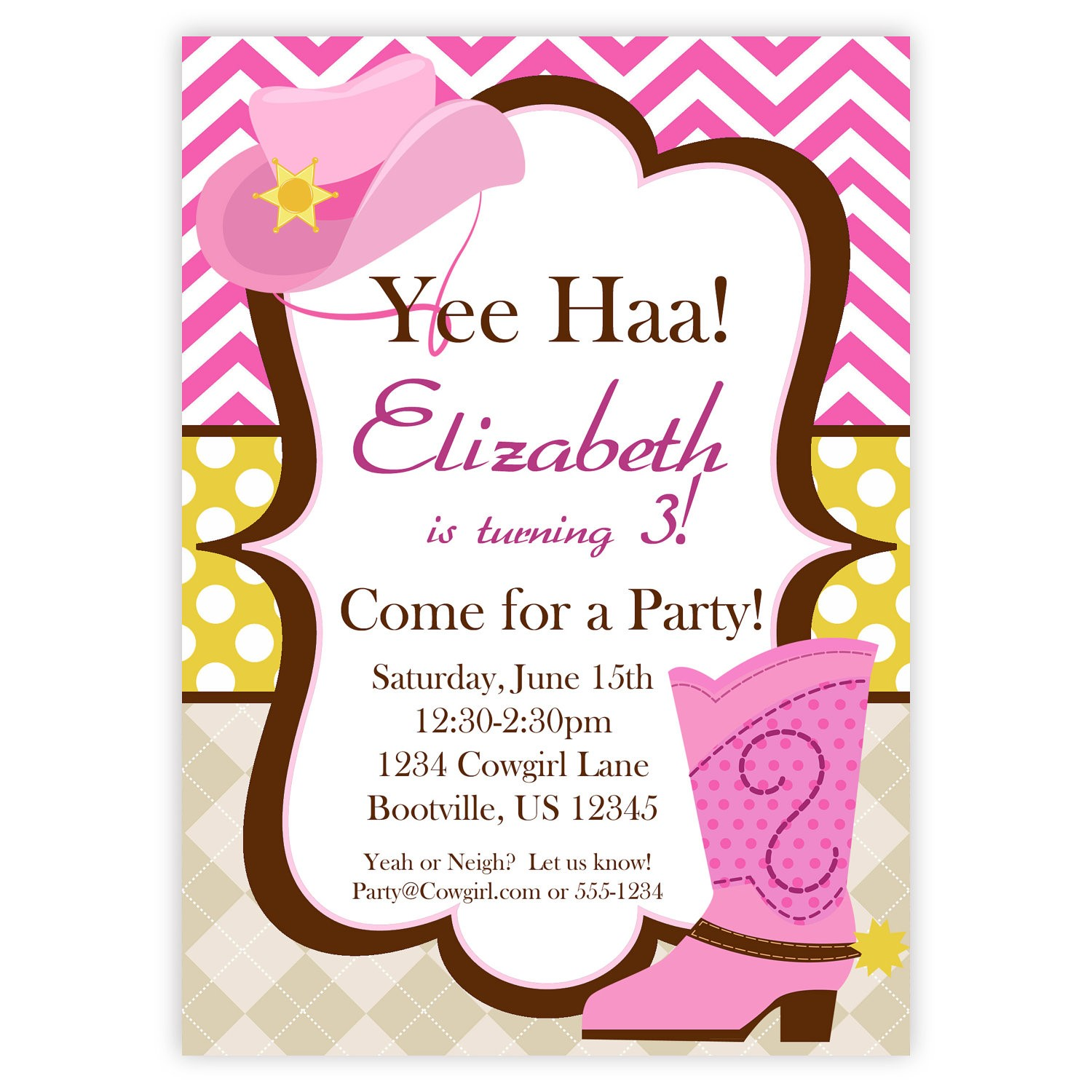 free printable cowgirl birthday party invitations ; Cozy-Cowgirl-Party-Invitations-As-An-Extra-Ideas-About-Free-Printable-Party-Invitations