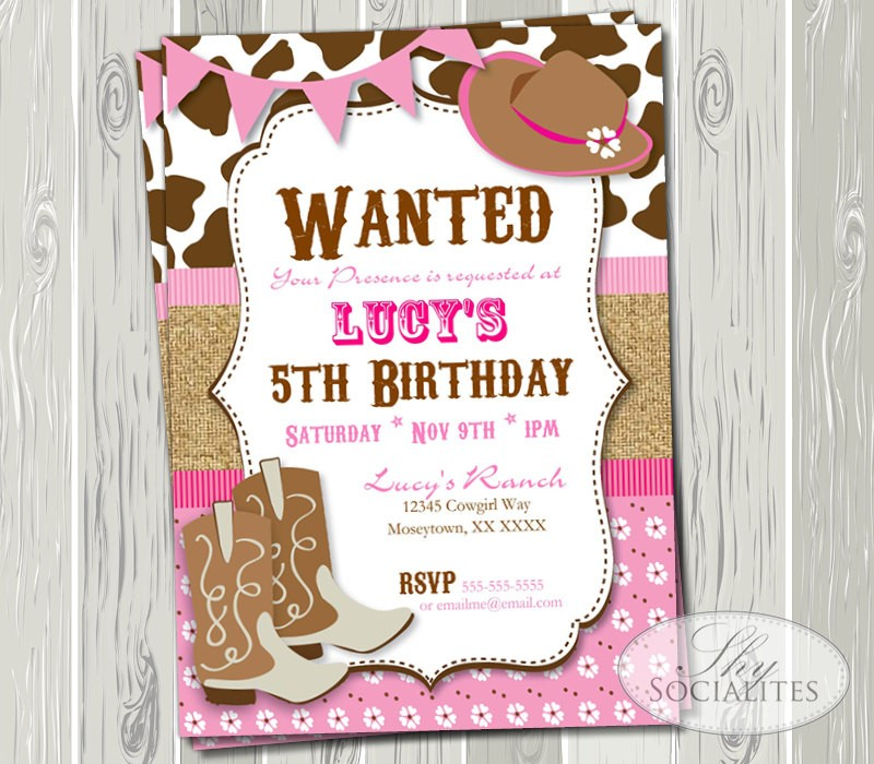 free printable cowgirl birthday party invitations ; Outstanding-Cowgirl-Party-Invitations-As-Free-Printable-Birthday-Party-Invitations