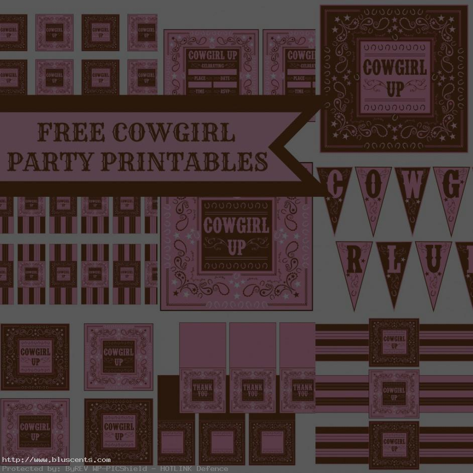 free printable cowgirl birthday party invitations ; free-printable-cowgirl-birthday-invitations-6