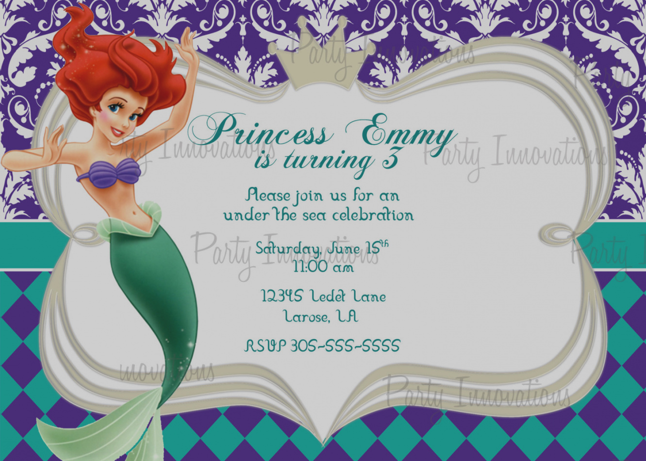 free printable disney birthday cards ; new-of-free-printable-disney-birthday-cards-download-free-template-little-mermaid