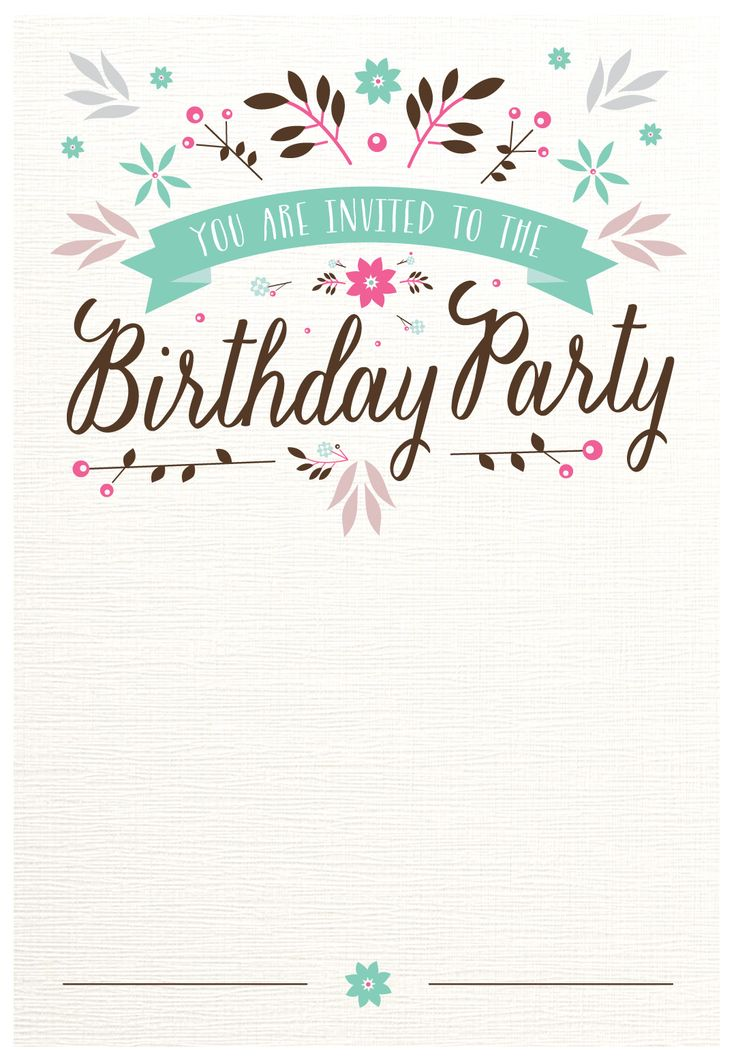 free printable invitations for birthday party ; design-birthday-party-invitations-best-25-free-printable-invitations-ideas-on-pinterest-printable-free